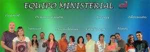 Equipo ministerial de la Iglesia Evangélica casa de Jesús Valencia