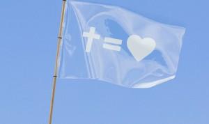 Bandera Dios es Amor