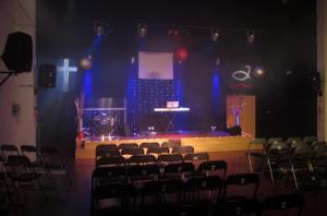 Interior de nuestra Iglesia