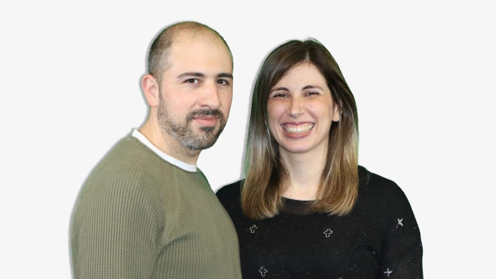 Rodrigo y Nadia